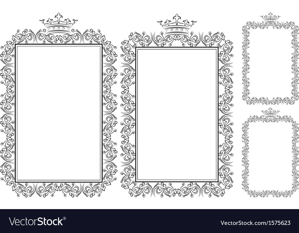 Frame rectangular vector | Price: 1 Credit (USD $1)