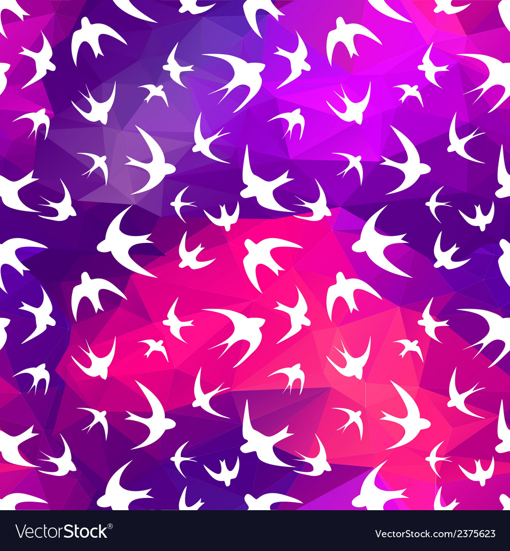 Swallow and triangle vector | Price: 1 Credit (USD $1)