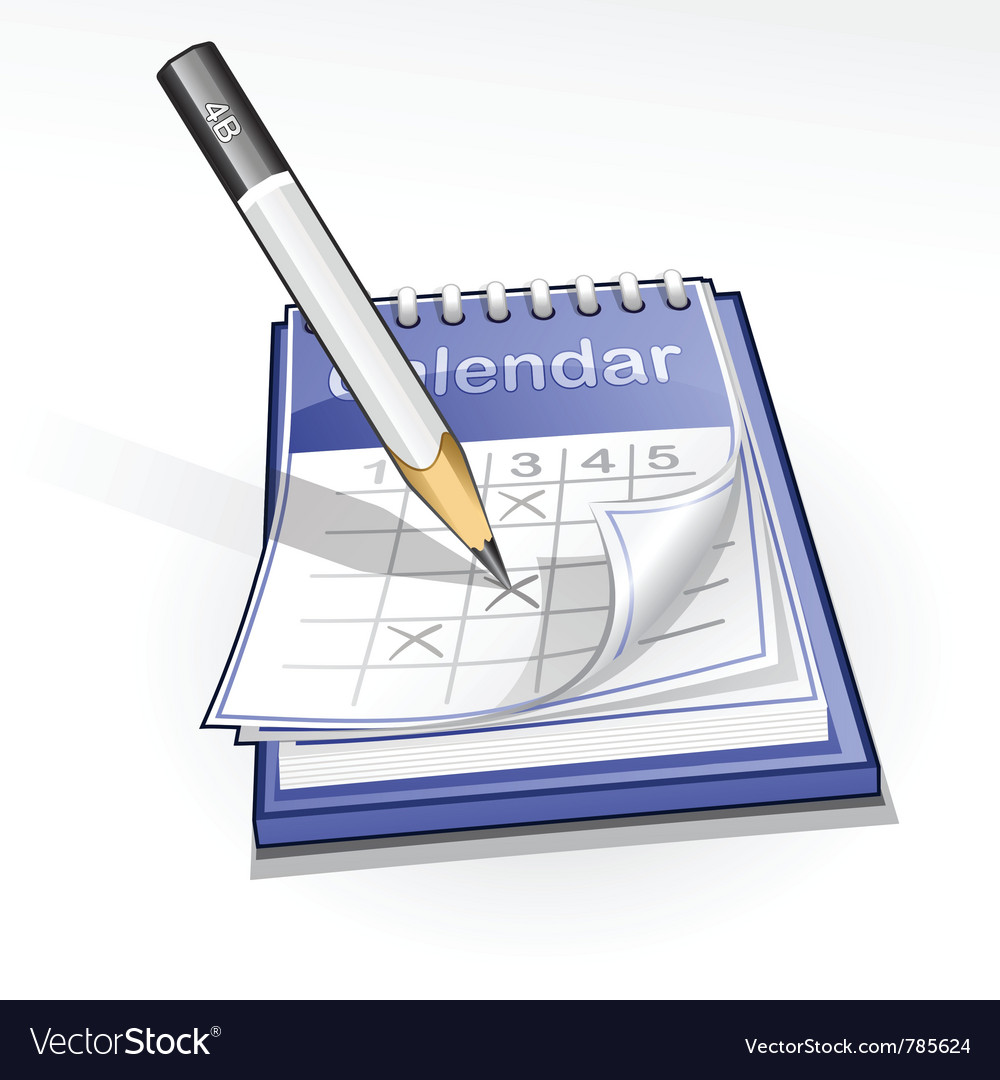 Calendar vector | Price: 3 Credit (USD $3)