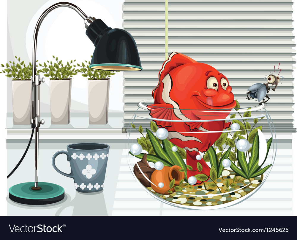 Aquarium vector | Price: 5 Credit (USD $5)