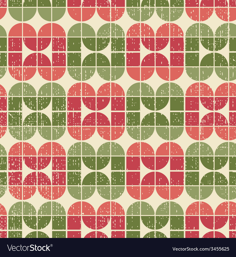 Bright tattered textile geometric seamless pattern vector | Price: 1 Credit (USD $1)