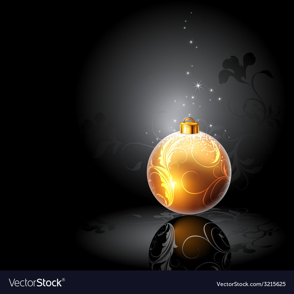 Christmas balls design vector | Price: 1 Credit (USD $1)