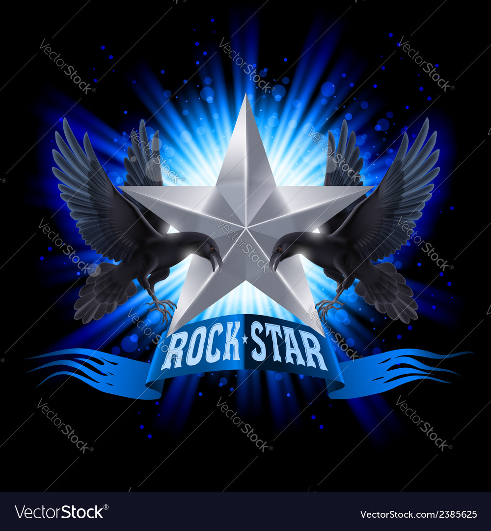 Rock star vector | Price: 1 Credit (USD $1)