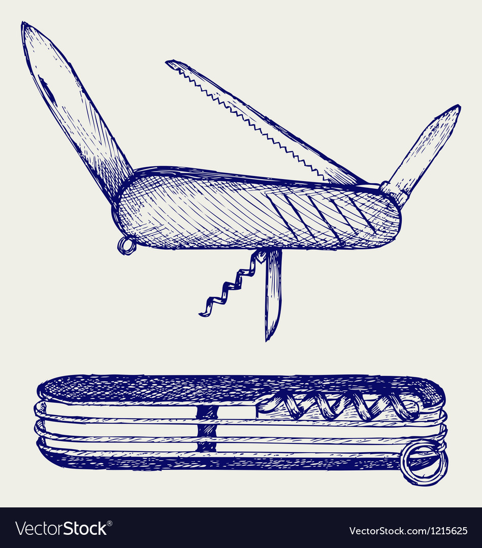 Swiss army knife vector   Price: 1 Credit (USD $1)