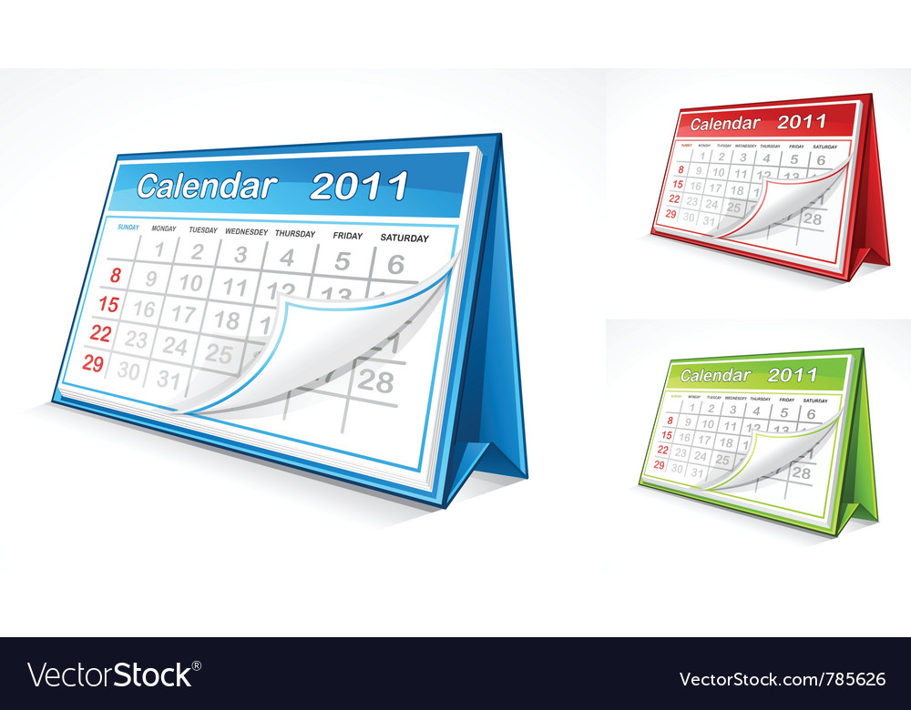 Calendar vector | Price: 3 Credit (USD $3)