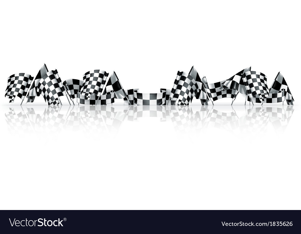 Checkered flags vector   Price: 1 Credit (USD $1)
