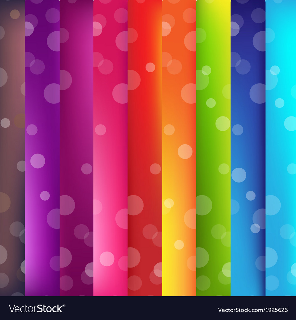 Colorful background with bokeh vector | Price: 1 Credit (USD $1)