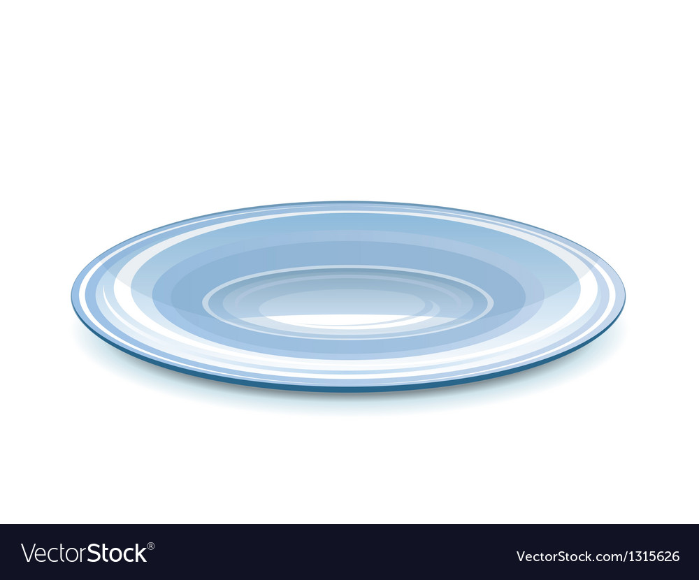 Empty saucer vector | Price: 3 Credit (USD $3)