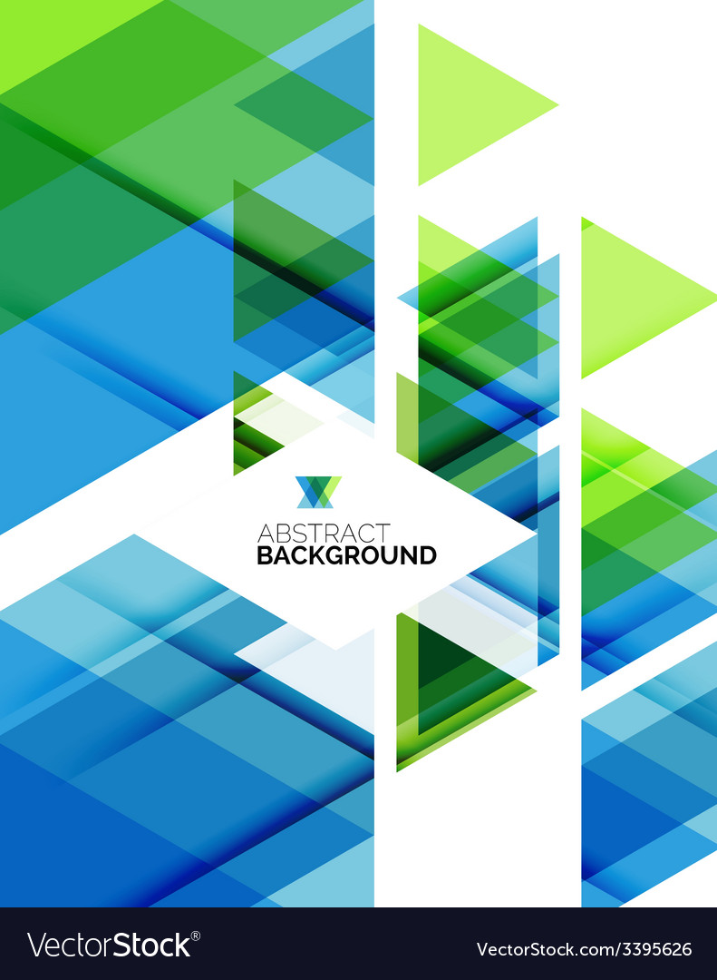 Triangle geometric abstract background vector   Price: 1 Credit (USD $1)