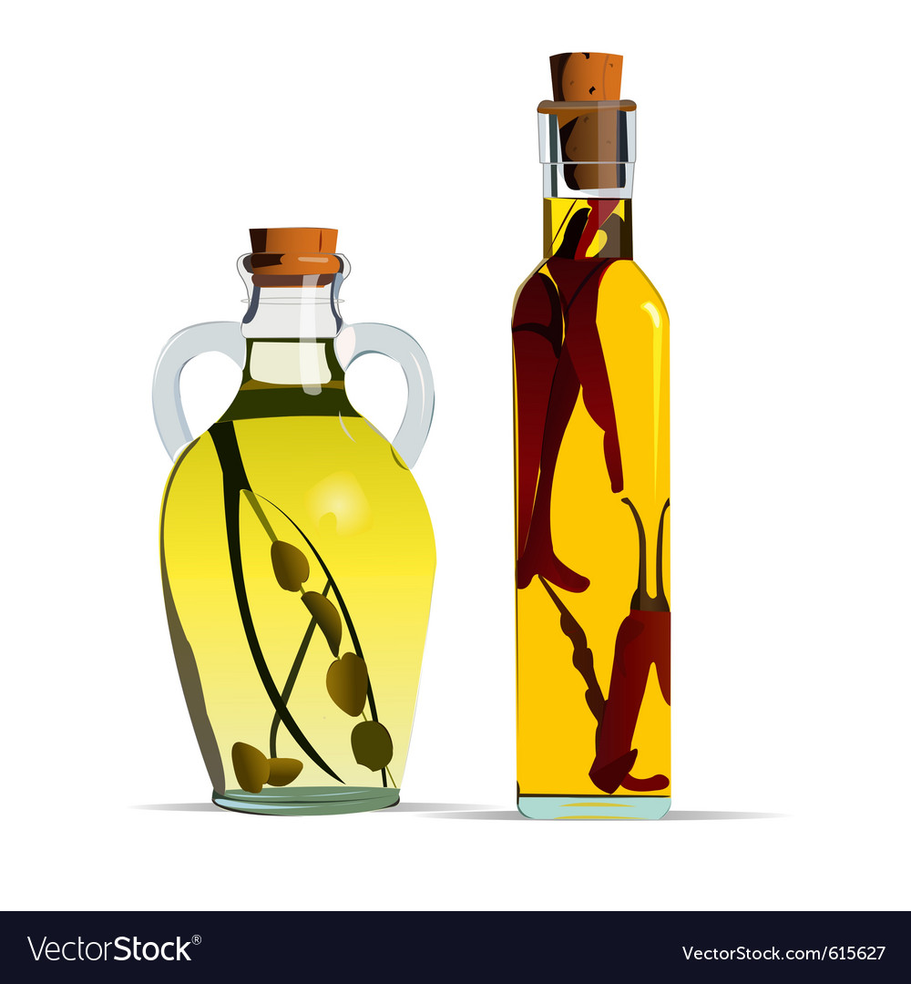 Cooking oils vector | Price: 1 Credit (USD $1)