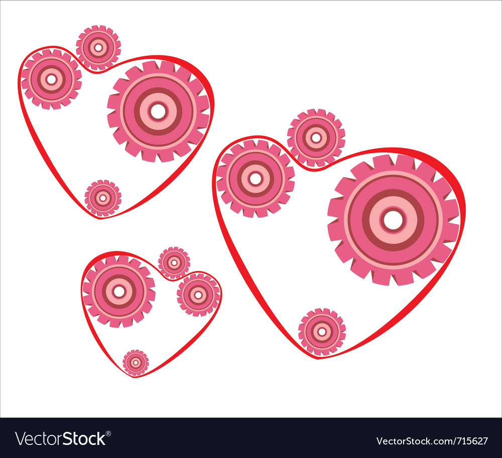 Heart mechanism vector | Price: 1 Credit (USD $1)