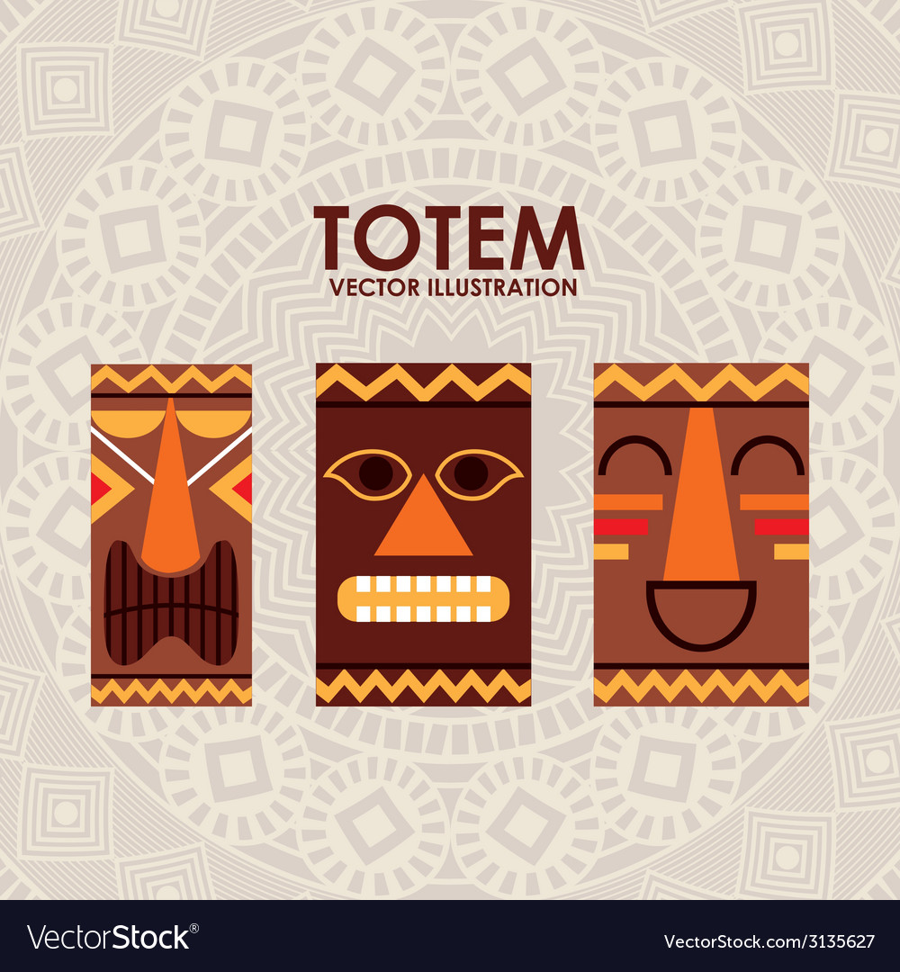Totem design vector | Price: 1 Credit (USD $1)