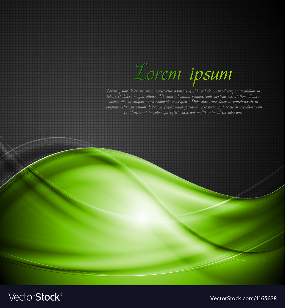 Bright green and black background vector | Price: 1 Credit (USD $1)