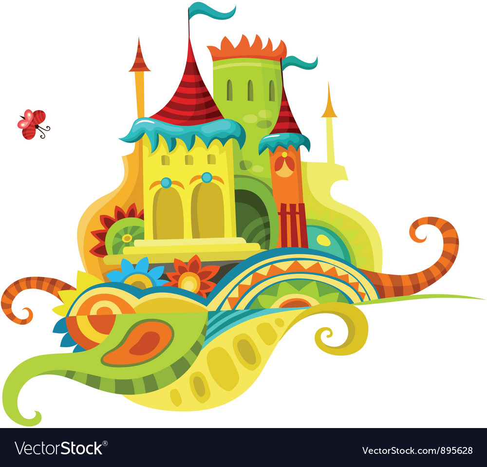 Castle vector | Price: 3 Credit (USD $3)