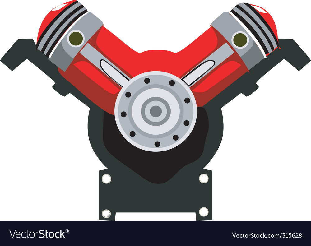 Engine head vector | Price: 1 Credit (USD $1)