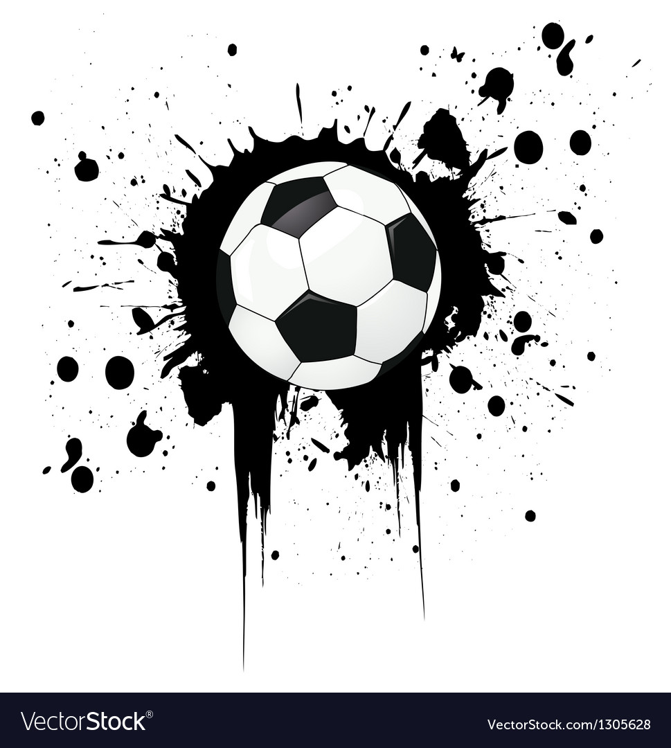 Football grunge vector | Price: 1 Credit (USD $1)
