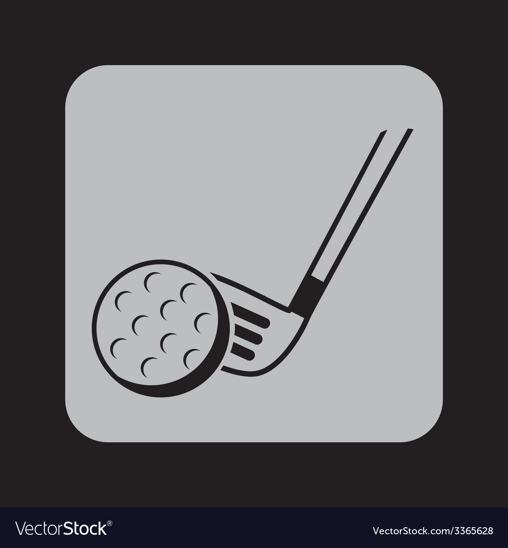 Golf design vector | Price: 1 Credit (USD $1)
