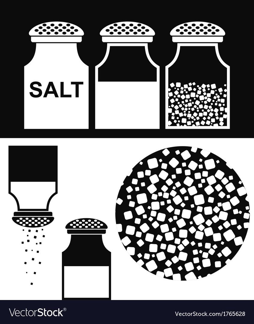 Salt vector | Price: 1 Credit (USD $1)