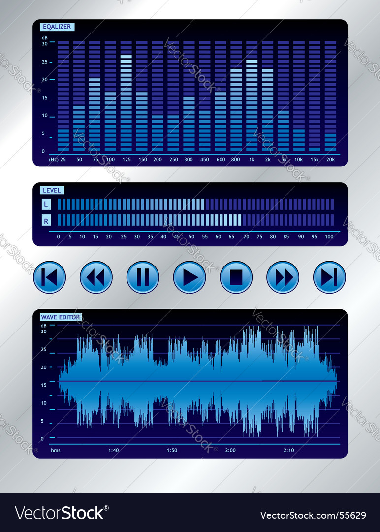 Sound mixer vector | Price: 1 Credit (USD $1)