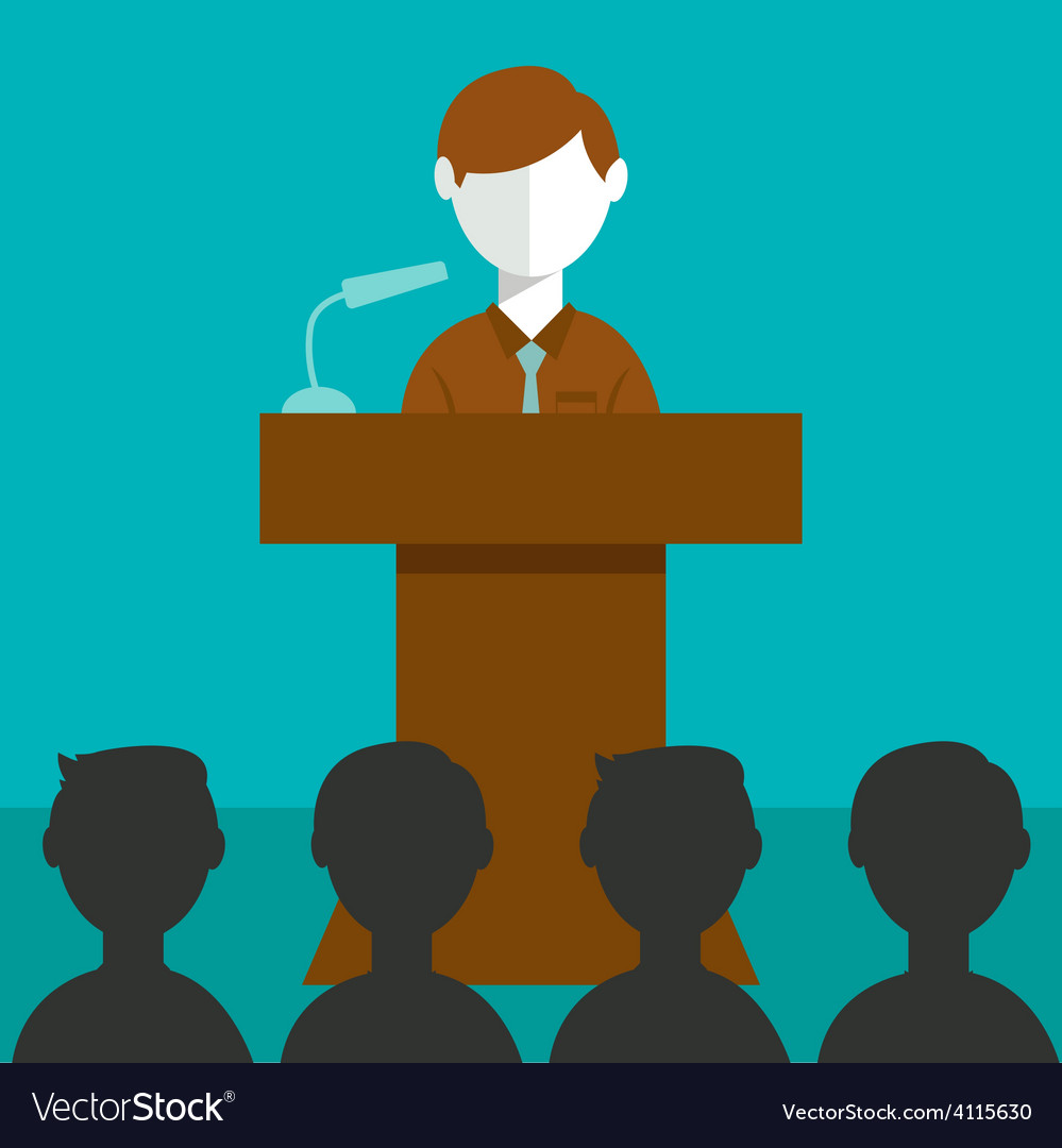 Conference meeting vector | Price: 1 Credit (USD $1)