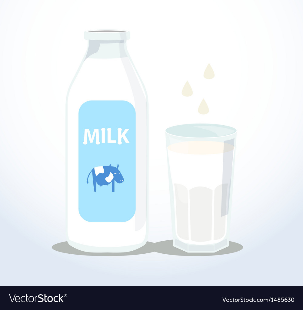 Fresh milk vector | Price: 1 Credit (USD $1)