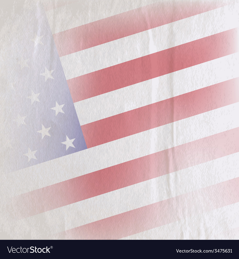 Old vintage paper texture with the united states vector | Price: 1 Credit (USD $1)