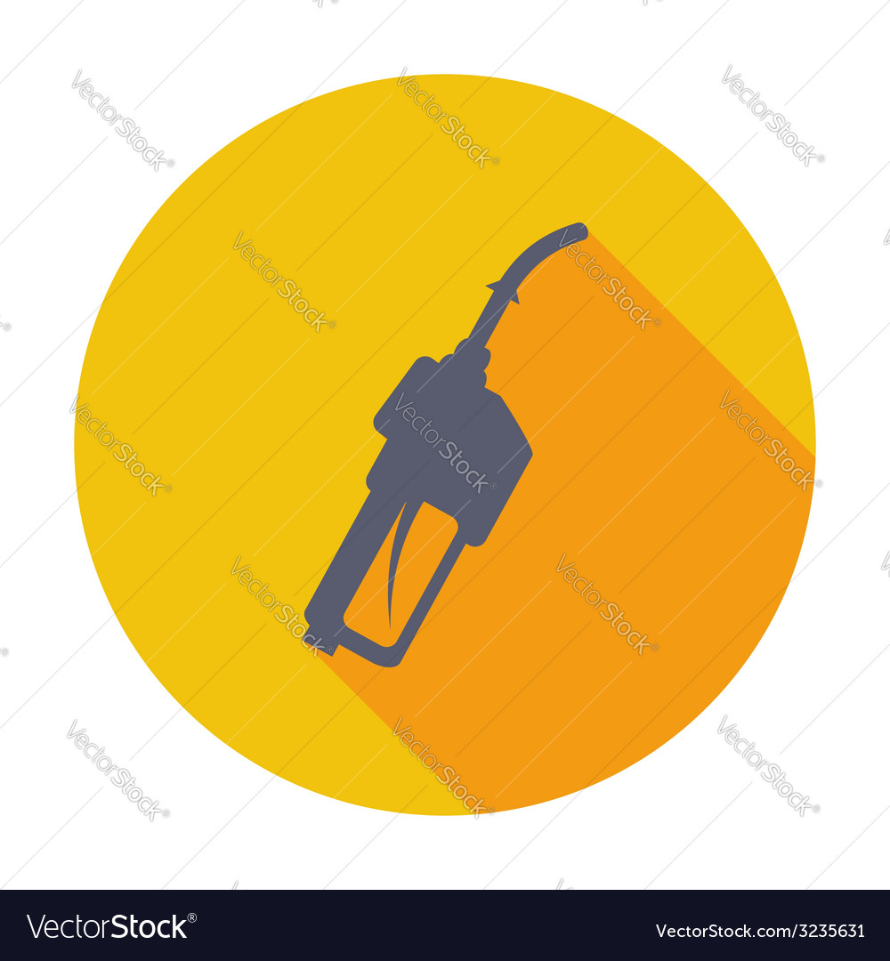 Refueling nozzle icon vector | Price: 1 Credit (USD $1)