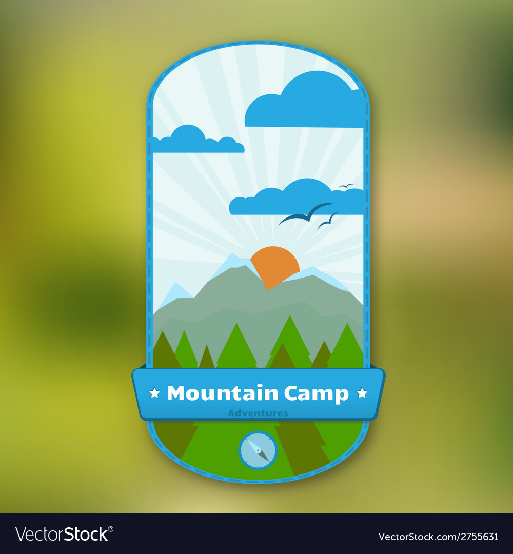 Traveler badge vector | Price: 1 Credit (USD $1)