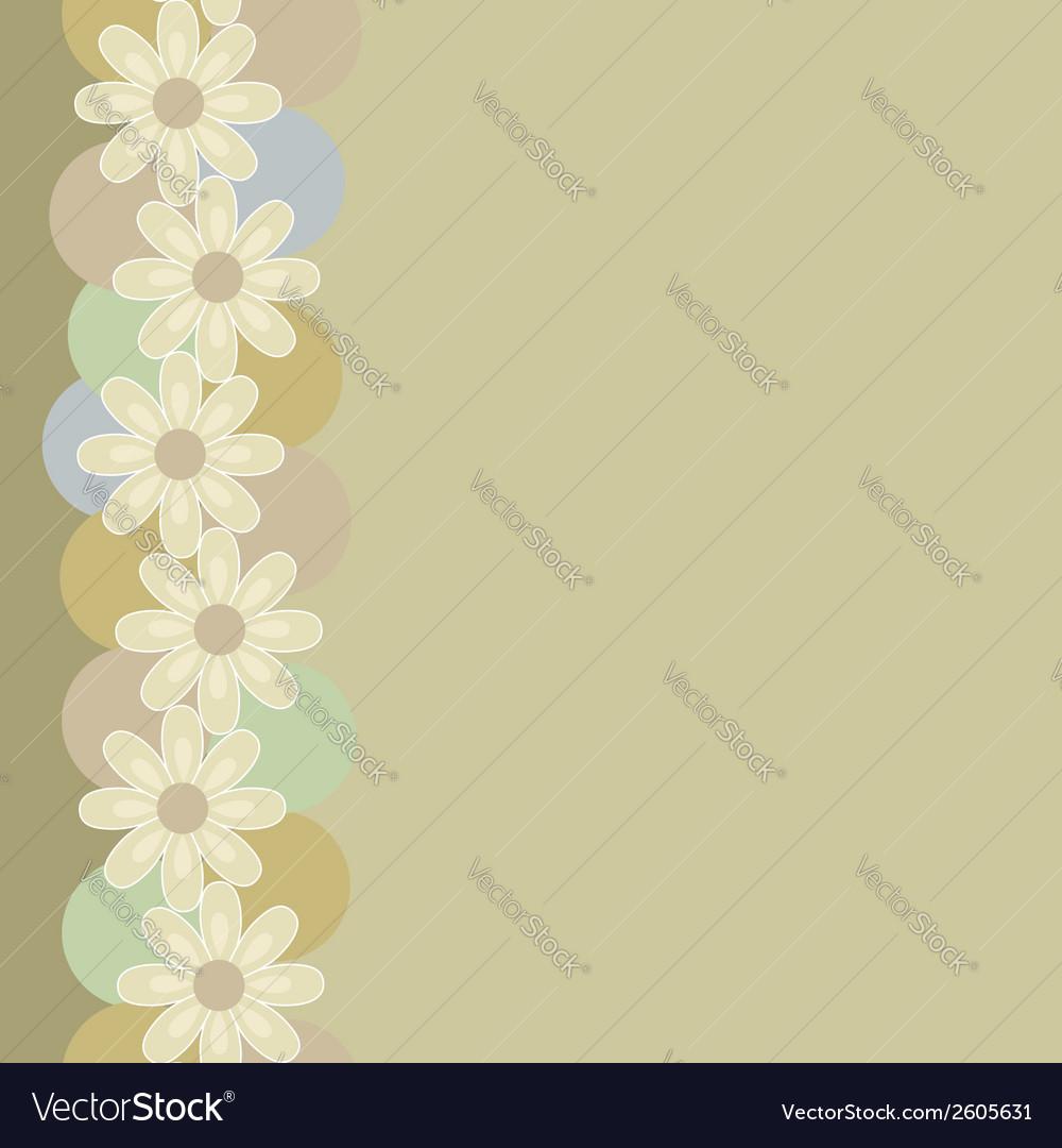 Vertical seamless vintage pattern vector | Price: 1 Credit (USD $1)
