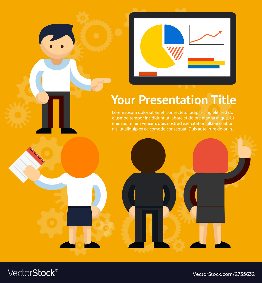 Business presentation design vector | Price: 1 Credit (USD $1)