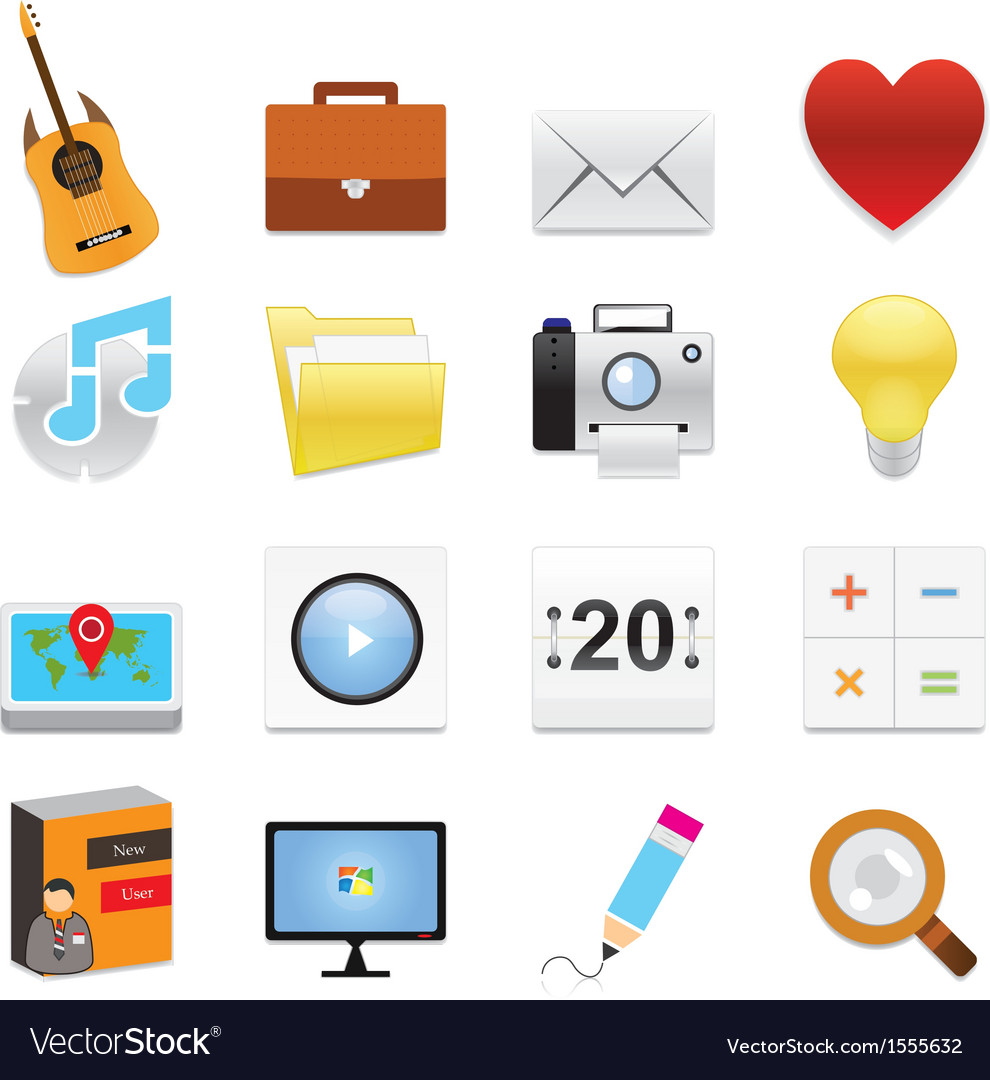 Web icons 11 vector | Price: 1 Credit (USD $1)