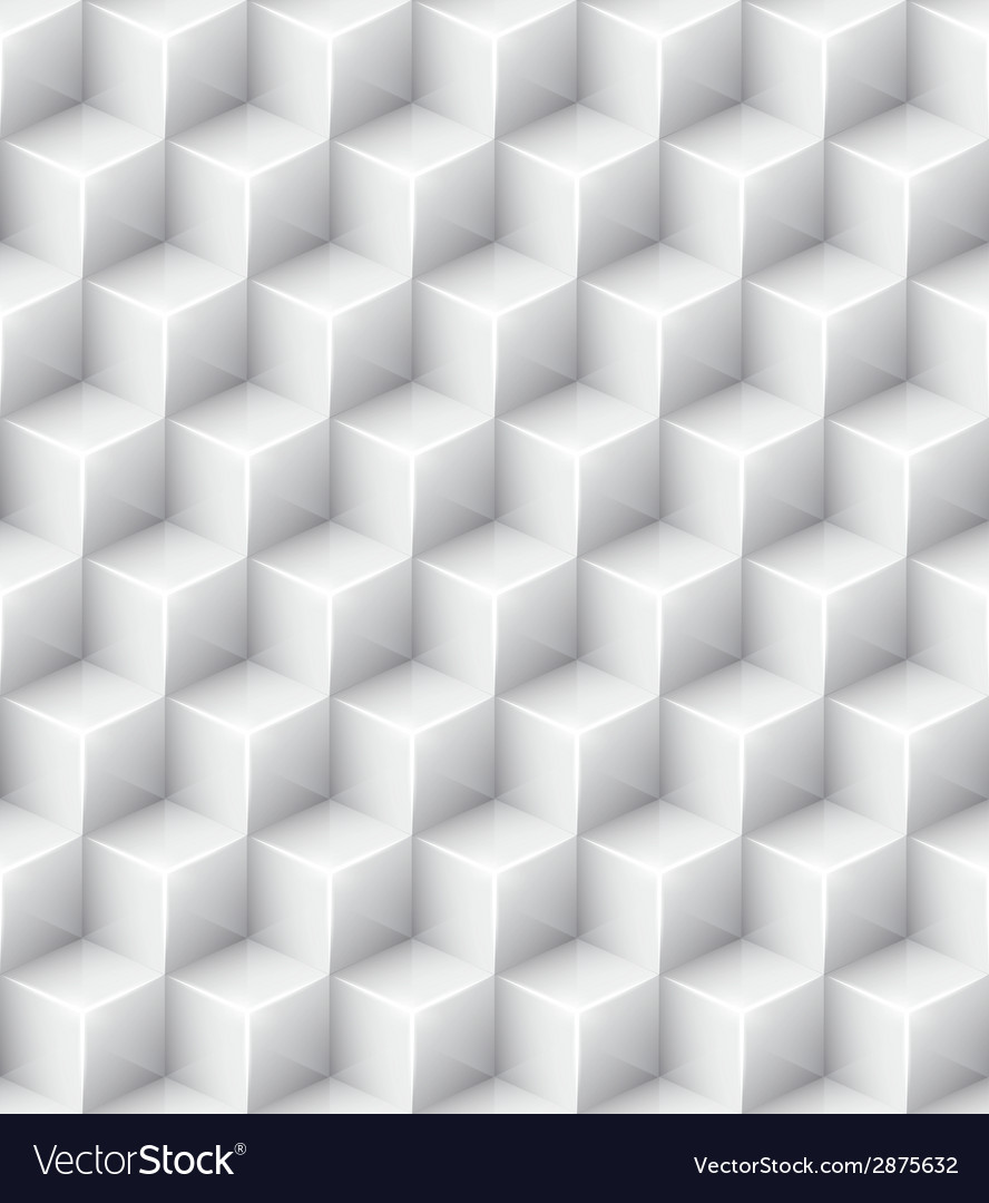White geometric texture seamless background vector | Price: 1 Credit (USD $1)