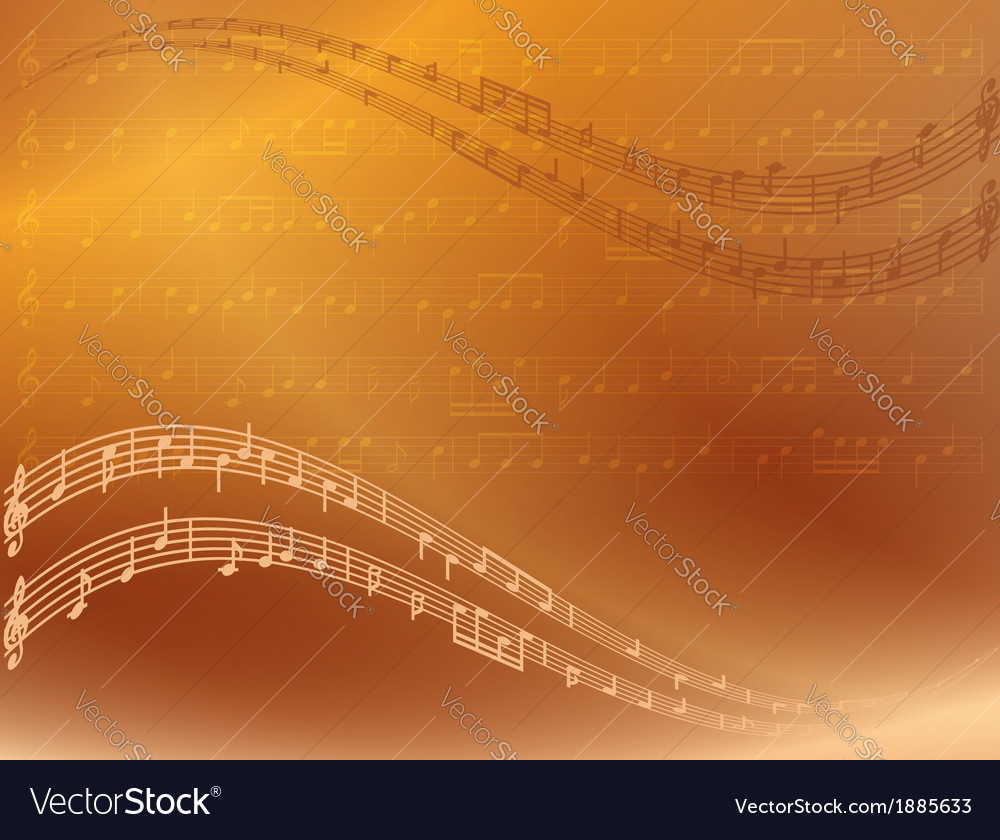 Abstract bright music background vector | Price: 1 Credit (USD $1)