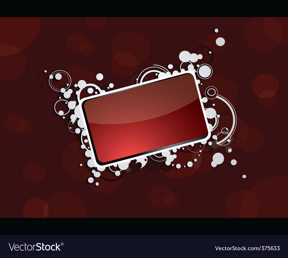Business card border vector | Price: 1 Credit (USD $1)
