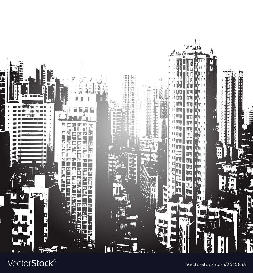 Panorama of the city cartoon vector   Price: 1 Credit (USD $1)