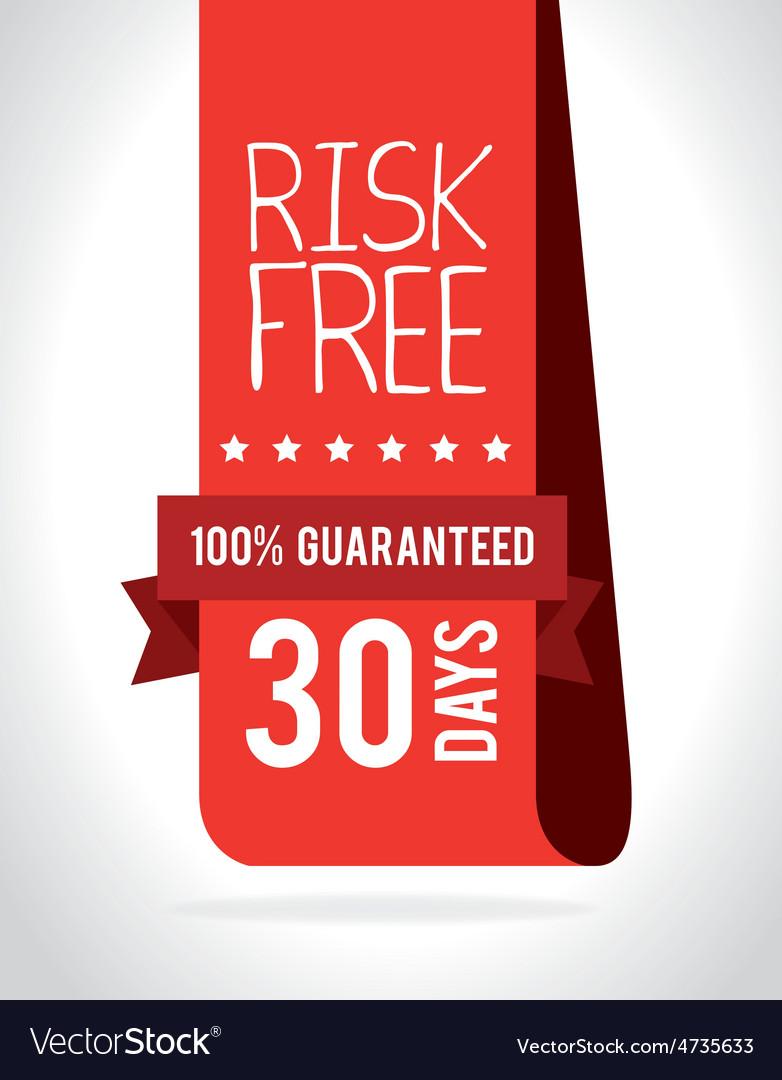 Risk free design vector | Price: 1 Credit (USD $1)