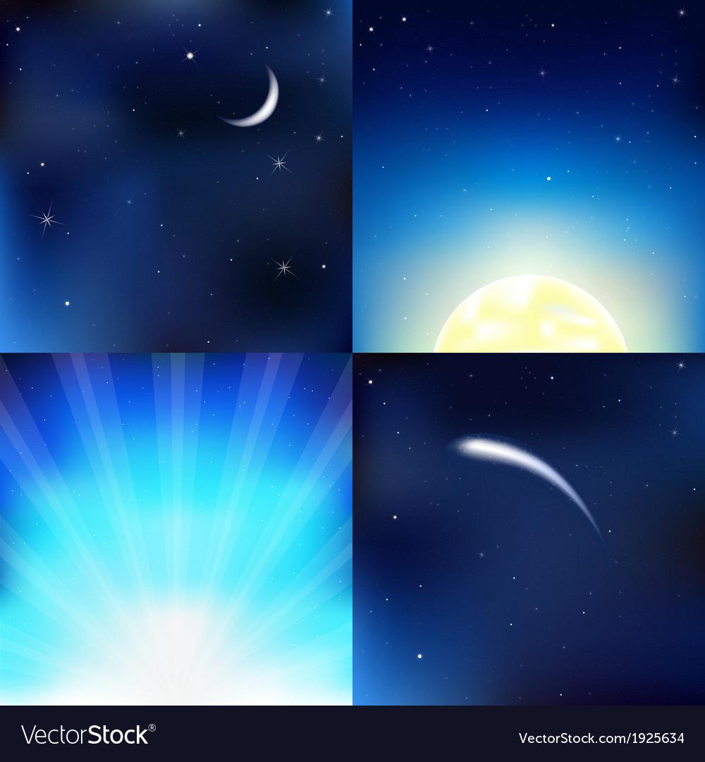 Dark blue sky vector   Price: 1 Credit (USD $1)