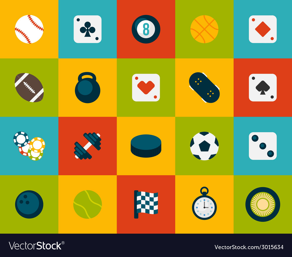 Flat icons set 12 vector | Price: 1 Credit (USD $1)