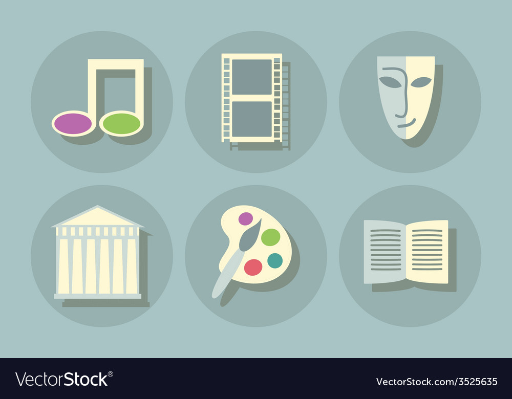 Art icons vector | Price: 1 Credit (USD $1)