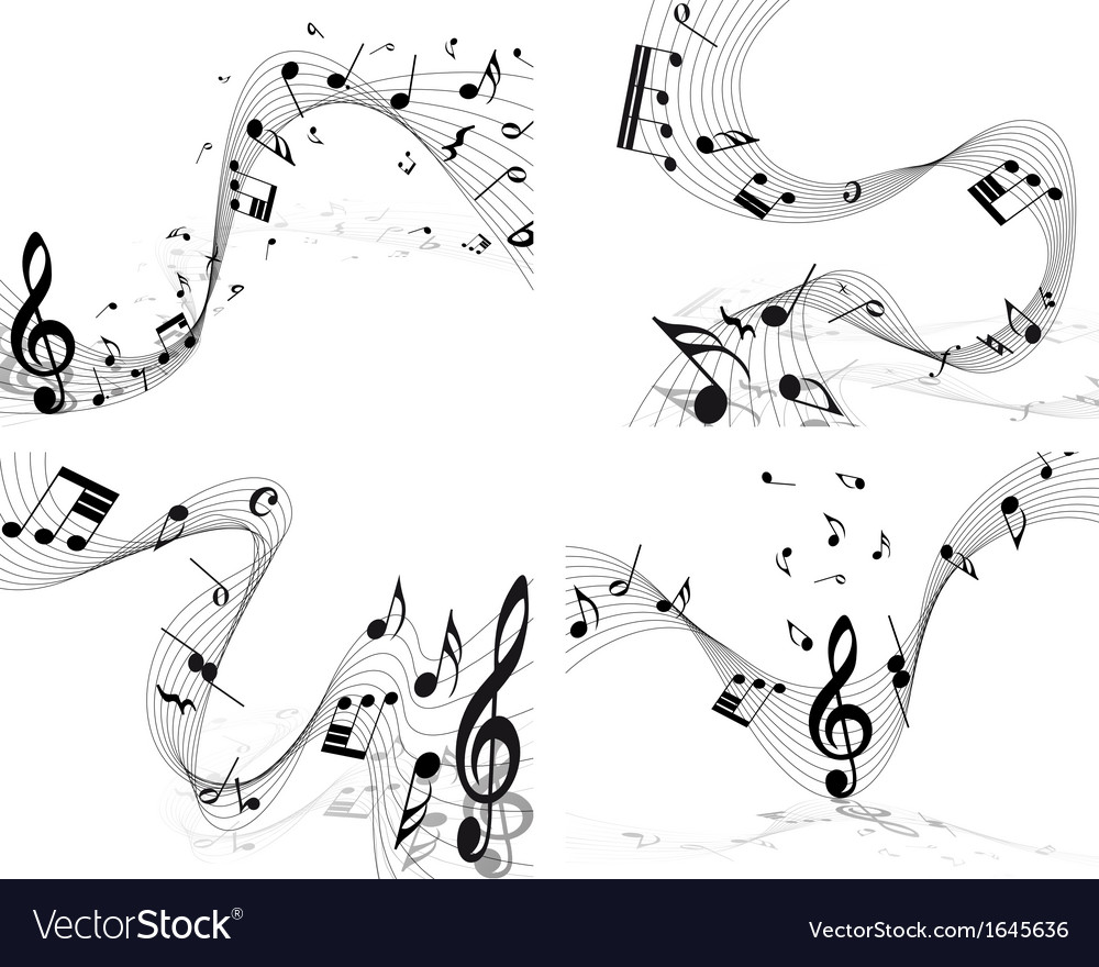 Music set vector | Price: 1 Credit (USD $1)