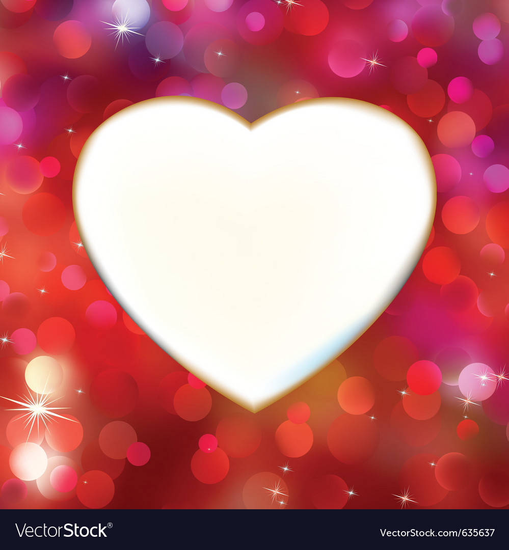 Abstract heart card vector | Price: 1 Credit (USD $1)