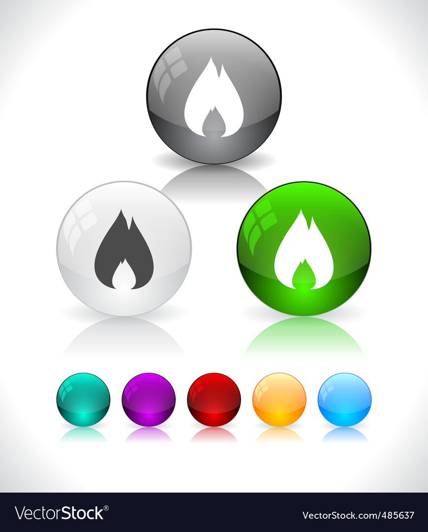 Glossy colorful abstract glass balls vector   Price: 1 Credit (USD $1)