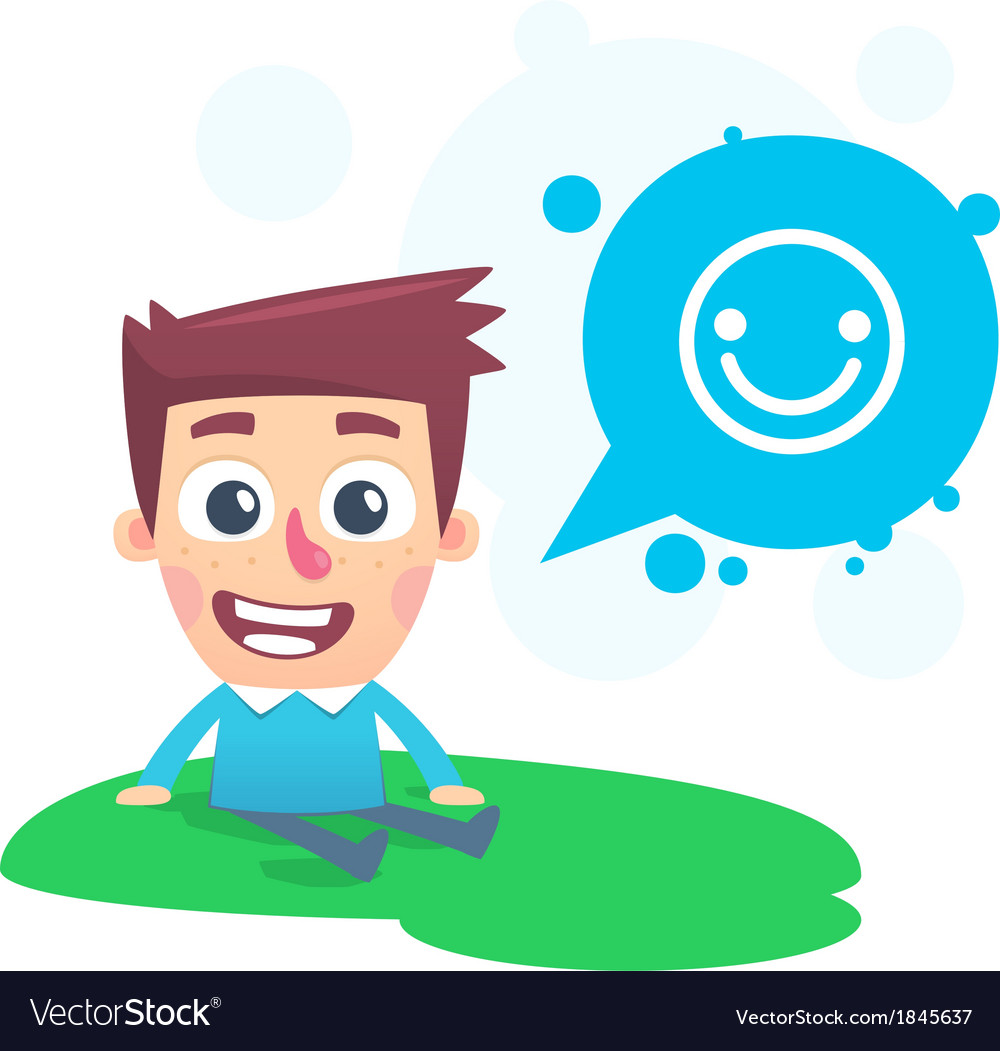 Good spirits in the park vector | Price: 1 Credit (USD $1)
