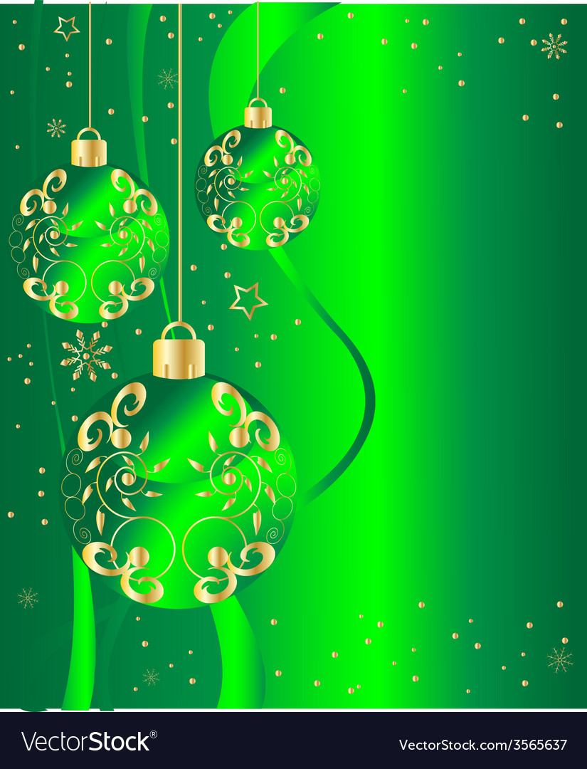 Ornate ornaments green vector | Price: 1 Credit (USD $1)