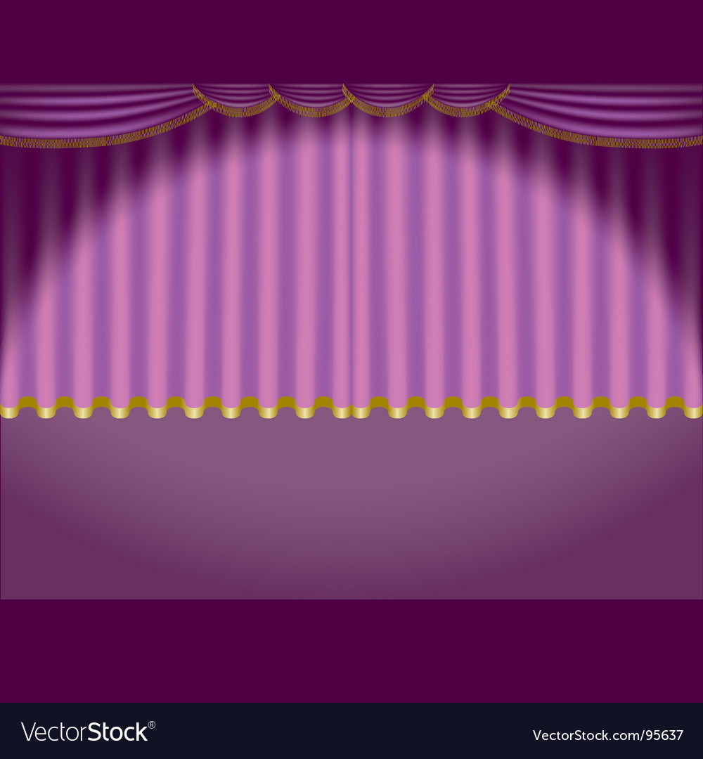 Theatre curtain vector   Price: 1 Credit (USD $1)