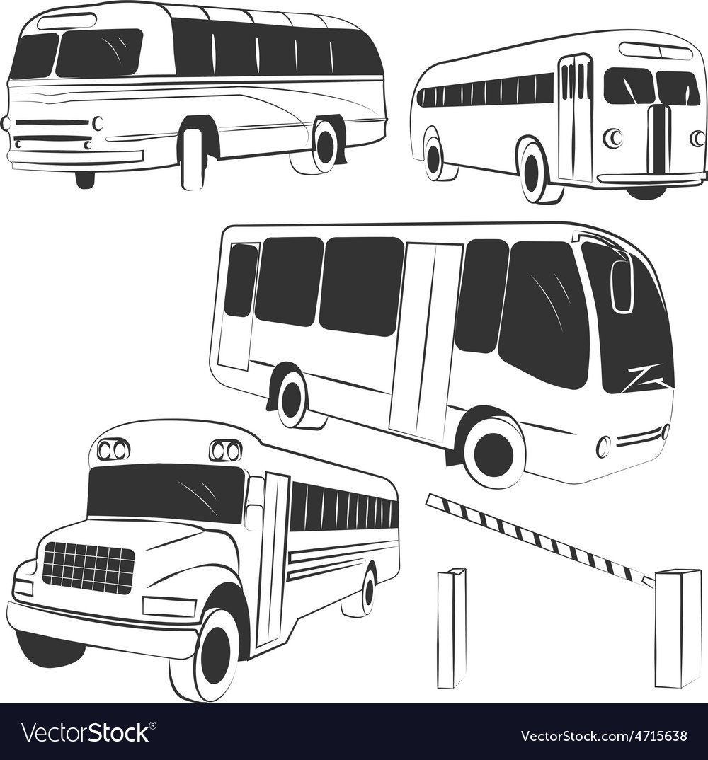 Bus vector | Price: 1 Credit (USD $1)