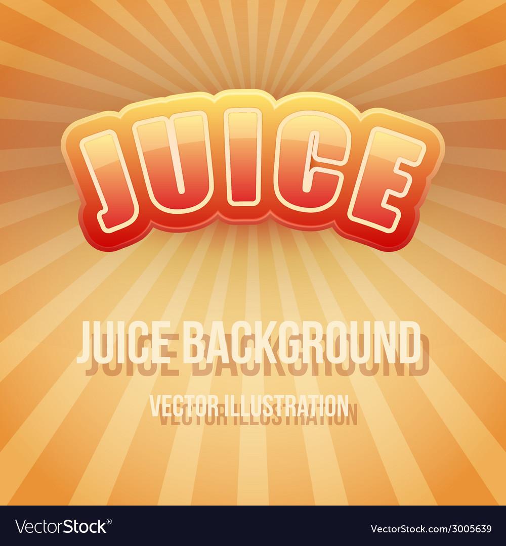 Background of label for apple juice bright premium vector | Price: 1 Credit (USD $1)