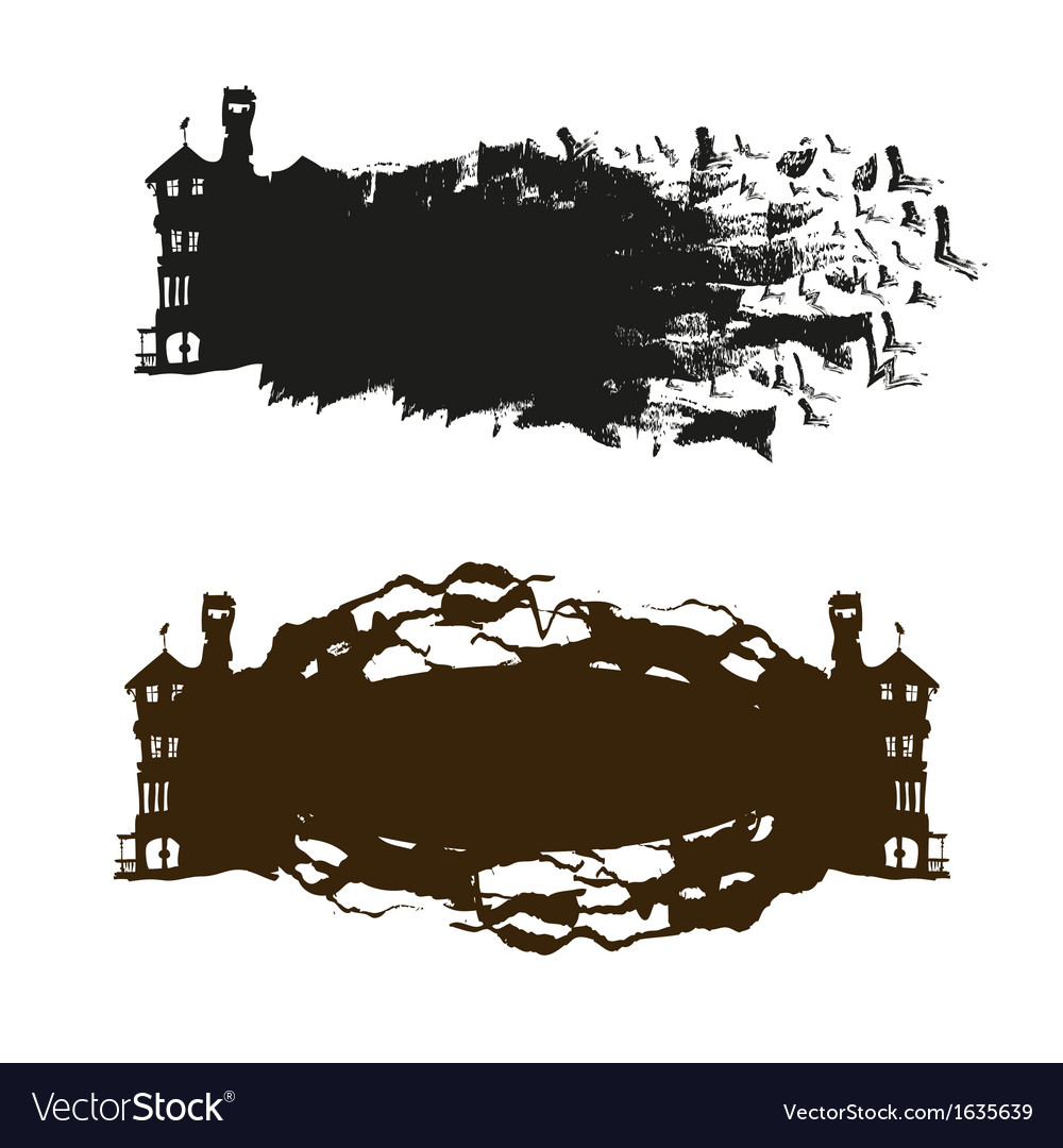 Building abstract isolated vector | Price: 1 Credit (USD $1)