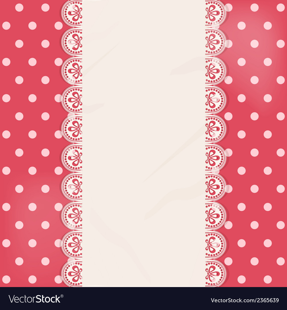 Lace centre panel border background vector | Price: 1 Credit (USD $1)