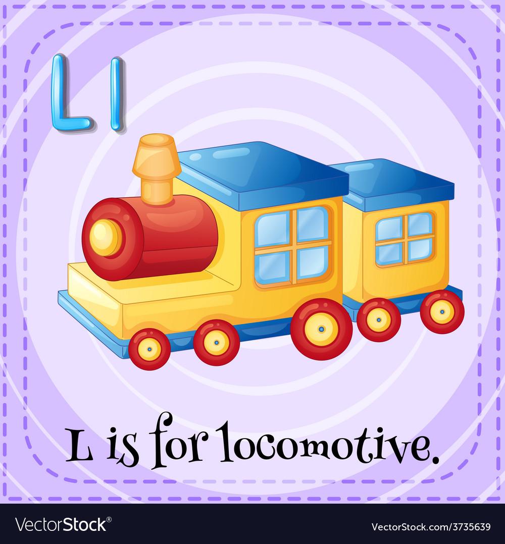 Letter l vector | Price: 1 Credit (USD $1)